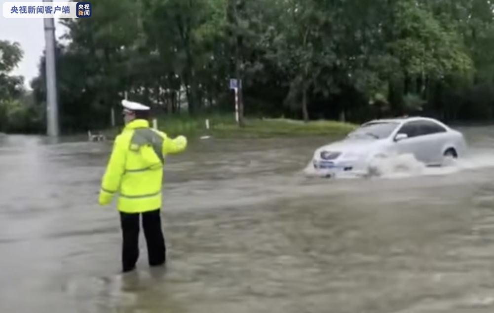 摩天注册,安徽多地遭遇暴雨部分地区摩天注册出现图片