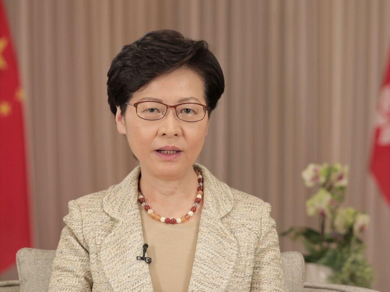 林郑月娥拍短片宣传涉港国安立法,强调中央立法用心良苦图片