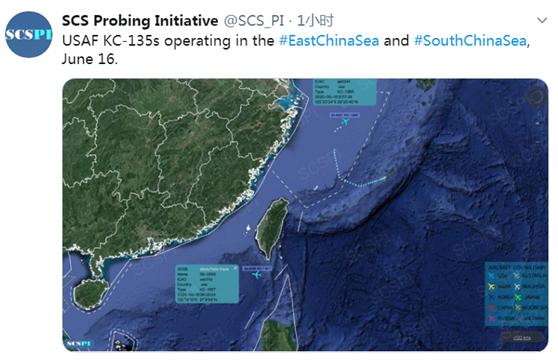 岛内绿媒再曝解放军歼-10战机、美国军机于同日出现在台湾空域图片