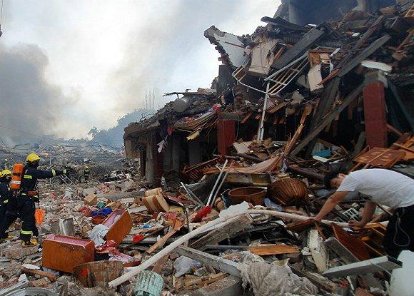 温岭大溪爆炸事故续:槽罐有裂口 原因不明
