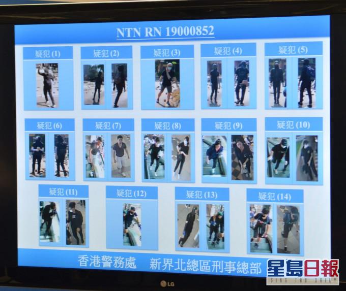 香港七旬清洁工被暴徒扔砖砸中身亡案 港警再通缉14人图片