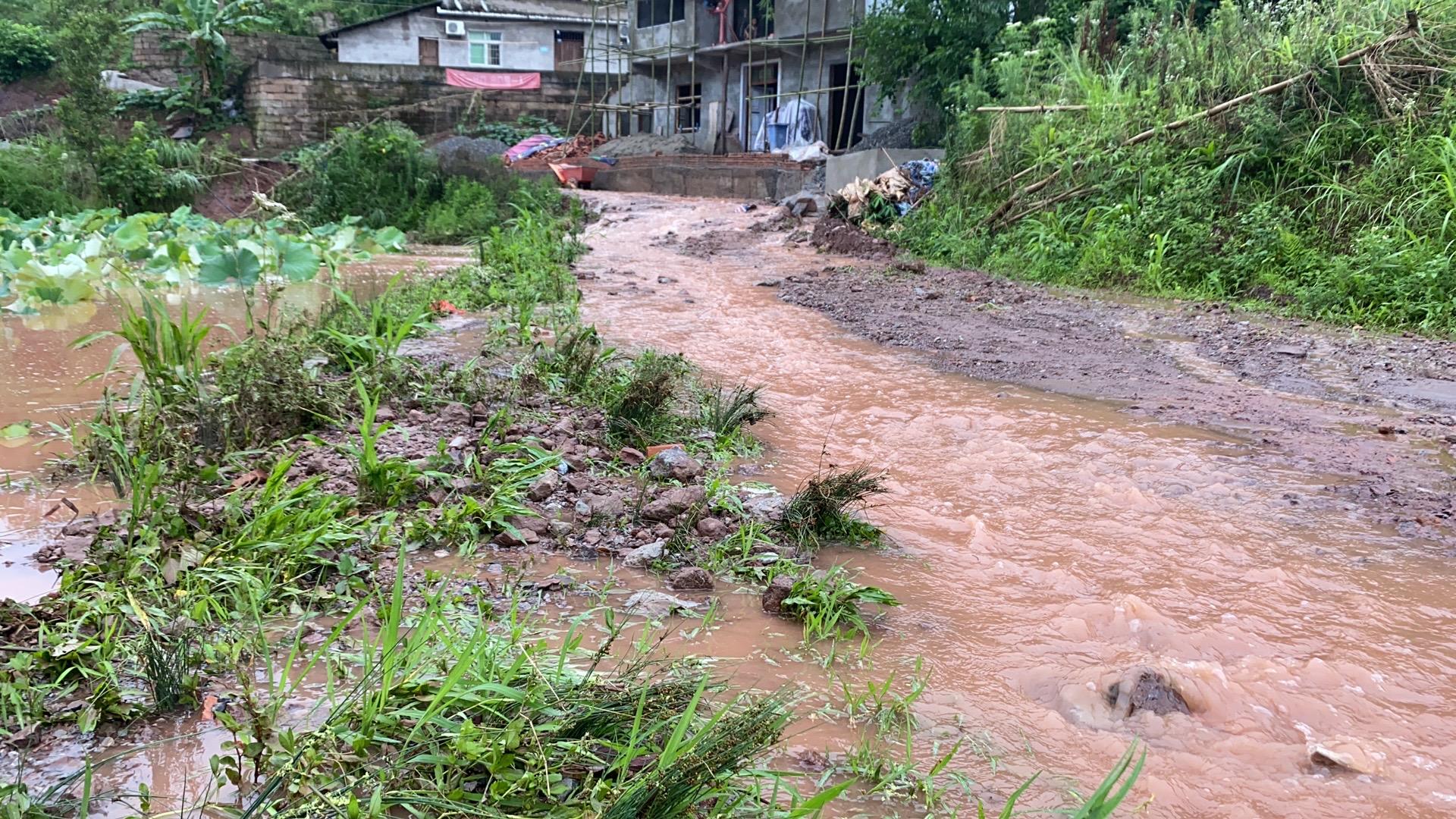 重庆将江河洪水和山洪灾害预警调整为Ⅳ级预警图片
