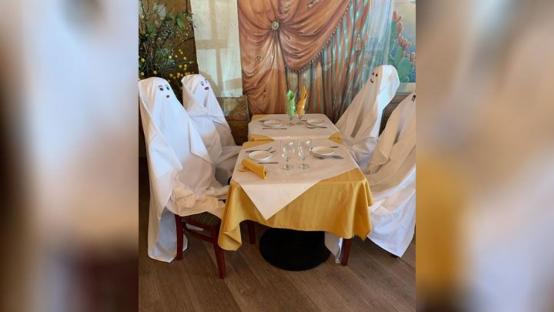美国餐厅用鬼魂代替客人 网友:美式幽默 略微有点儿凉嗖