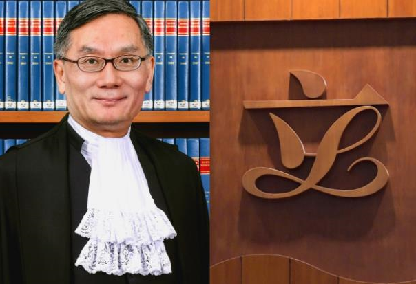 香港立法会通过任命张举能为终审法院首席法官的决议案图片