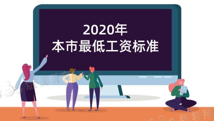 今年上海最低工资标准不调整,月最低工资继续为2480元图片
