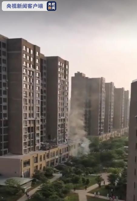 辽宁丹东一住宅发生煤气爆炸 造成3人死亡4人受伤图片