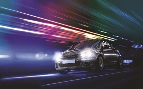 新一代飞利浦恒锐光LED G2车灯闪亮上市 时尚白光 重塑头灯传奇