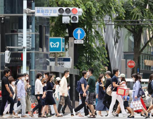 东京街头(时事通讯社)