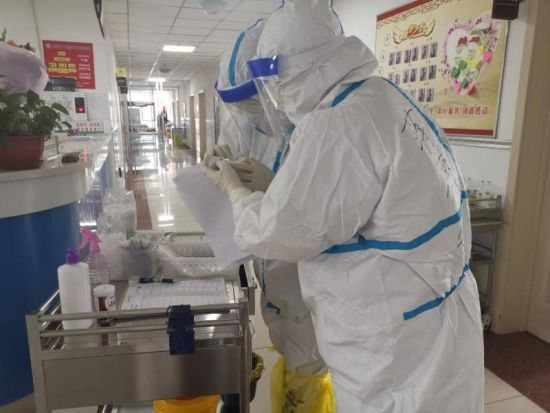 """吉林蛟河:儿科护理团队担当""""抗疫""""先锋图片"""