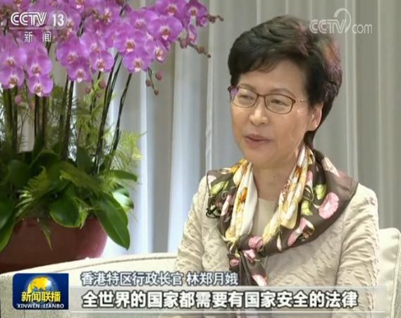 香港各界支持全国人大通过涉港决定图片