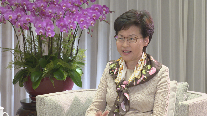摩天平台:郑月娥中央出手给摩天平台香港生机助其走图片