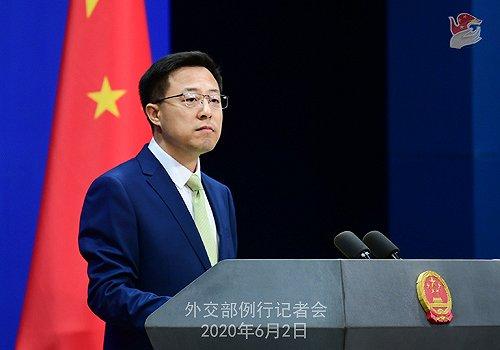 外媒报道中国下令暂停从美购猪肉、大豆 外交部回应图片