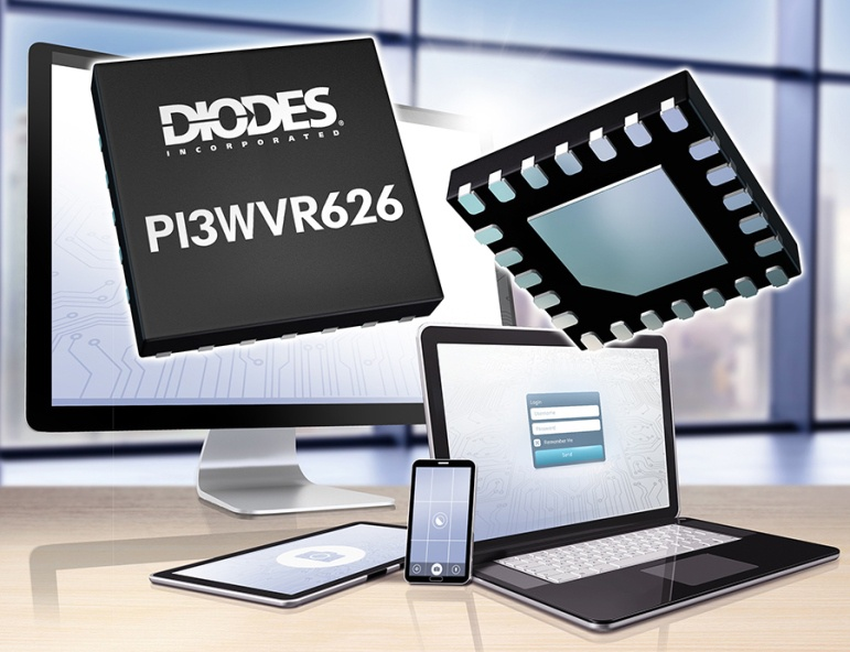 Diodes 公司的 MIPI 2:1 切换器为多摄像头设备提供成本效益