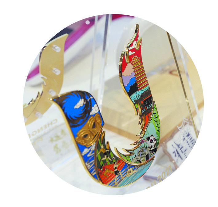 成都大运会官方特许商品零售店首店开业图片