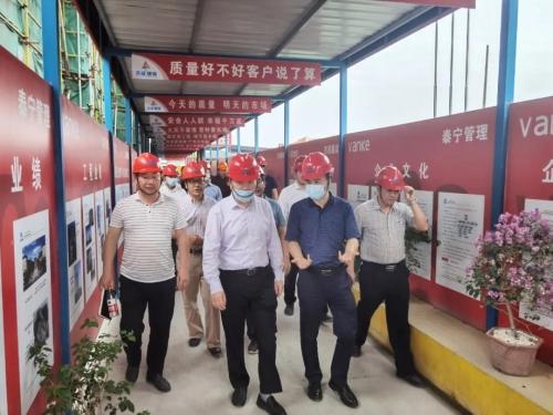 朱永斌赴台州调研指导产业工人培育和智慧工地建设工作图片