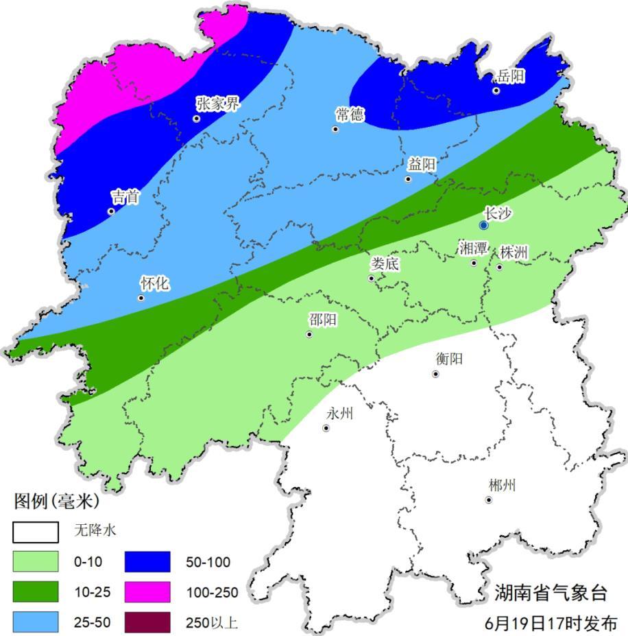 湖南将迎今年入汛以来最强降雨过程 湘西局地或有特大暴雨图片