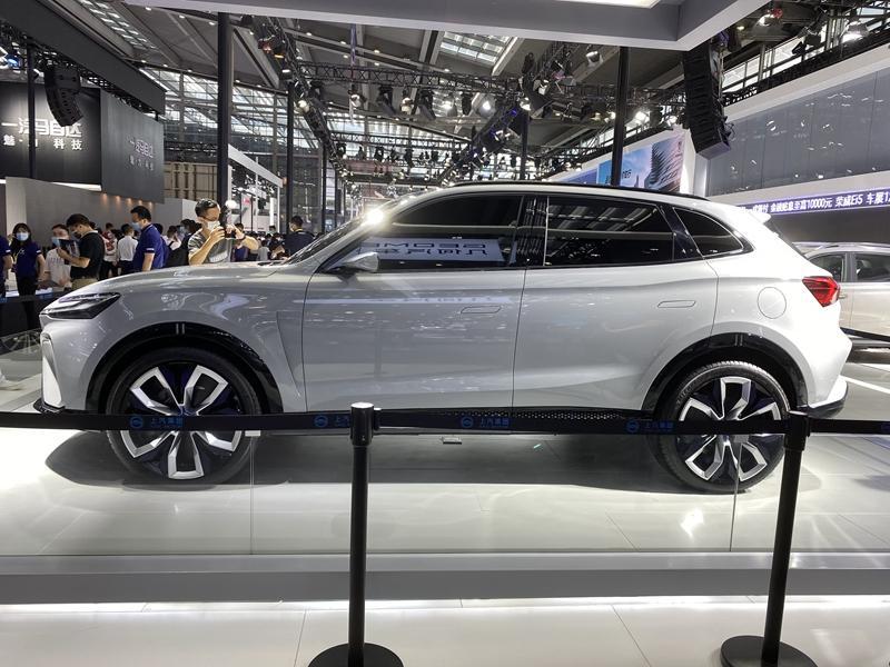 L3级自动驾驶系统 上汽荣威MARVEL-R首发亮相