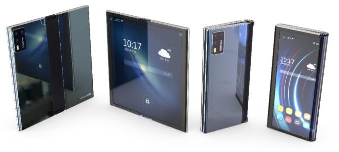 业内首款集内外折叠于一身的应用 维信诺发布柔性AMOLED 360°折叠终端
