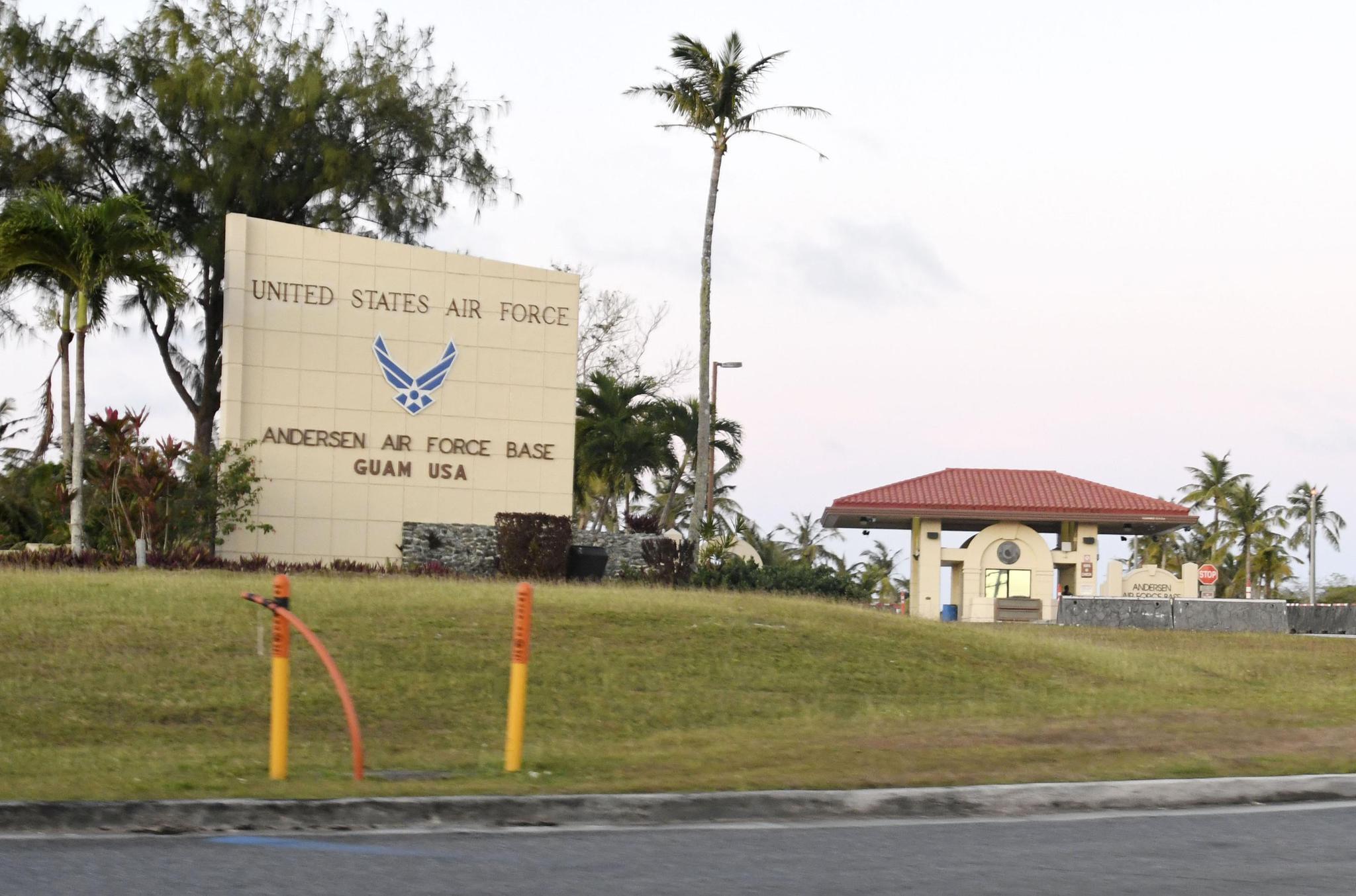 美国关岛美军空军基地37人感染新冠病毒