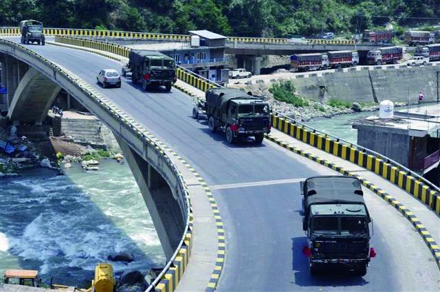 印度三军边界增兵动作不断