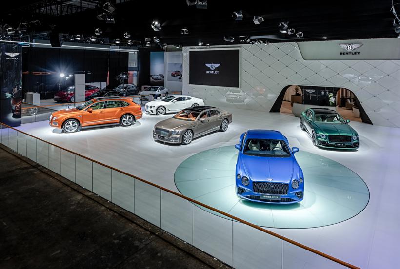 宾利汽车携全系车型亮相粤港澳大湾区国际车展