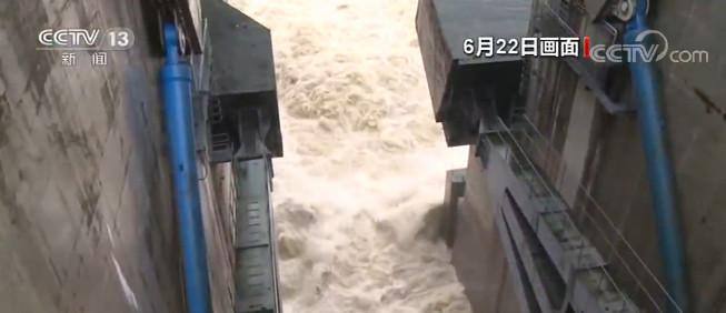 乌江2020年第一号杏悦注册洪水形成,杏悦注册图片