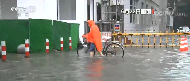 「摩天娱乐」湖北荆州持续强降雨城摩天娱乐区图片