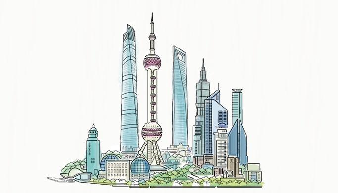 """""""人民城市"""",上海的样子图片"""