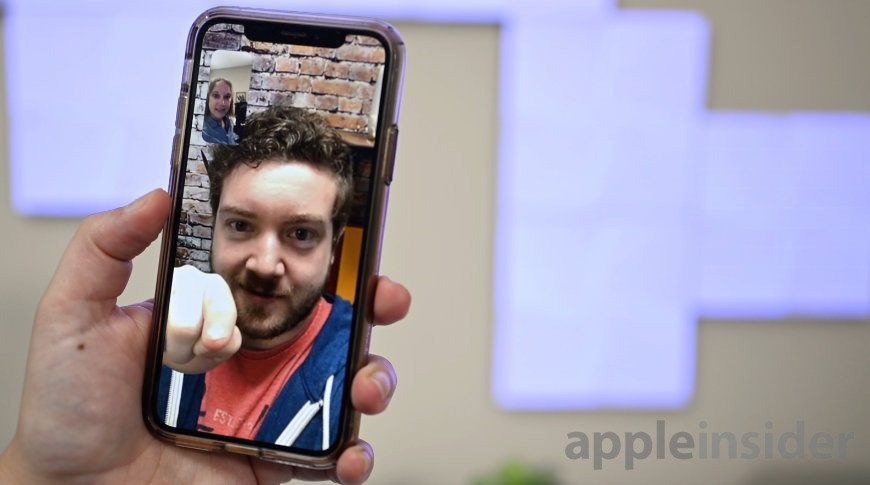 苹果 iOS 14 确认将支持 FaceTime 眼神接触校正功能