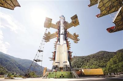 北斗三号最后一颗组网卫星发射任务重启 北斗问苍穹图片