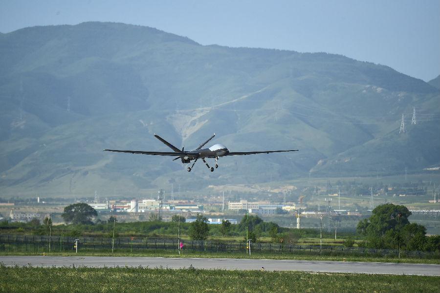 摩天注册:建㉞首次摩天注册翼龙无人机化身空中基图片