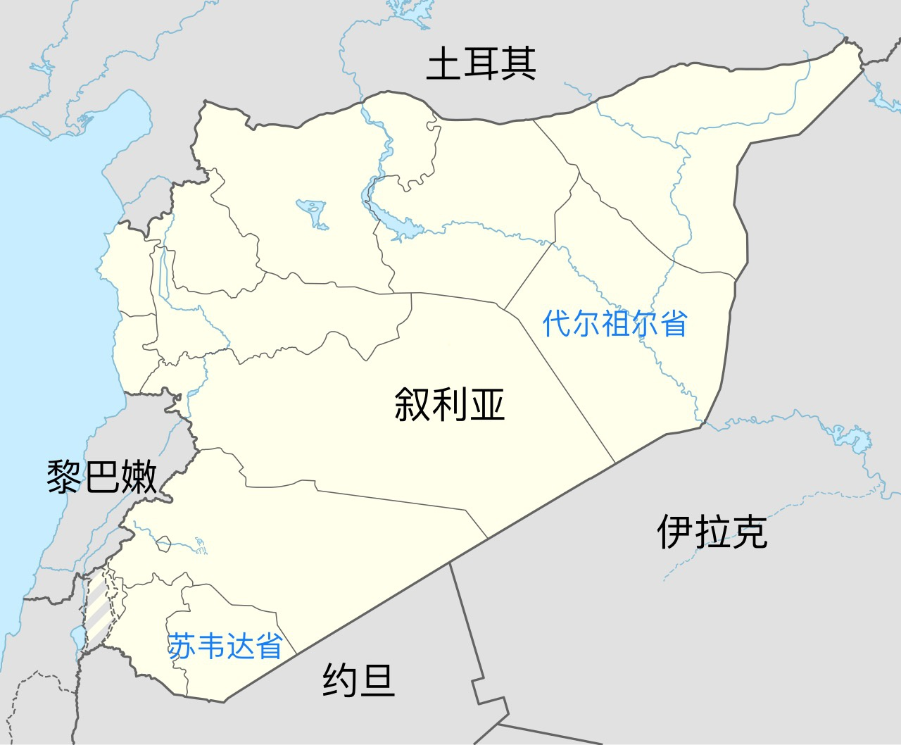 叙利亚南部和东部遭到空袭 致2名政府军士兵死亡