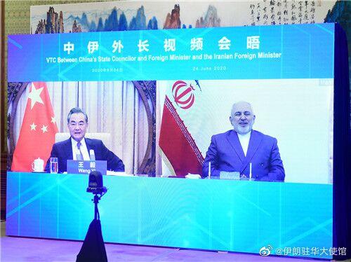 伊朗外长推特上用中文送祝福:祝中国朋友们端午安康图片