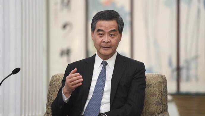 外国势天富官网力干预香港非常明显梁,天富官网图片