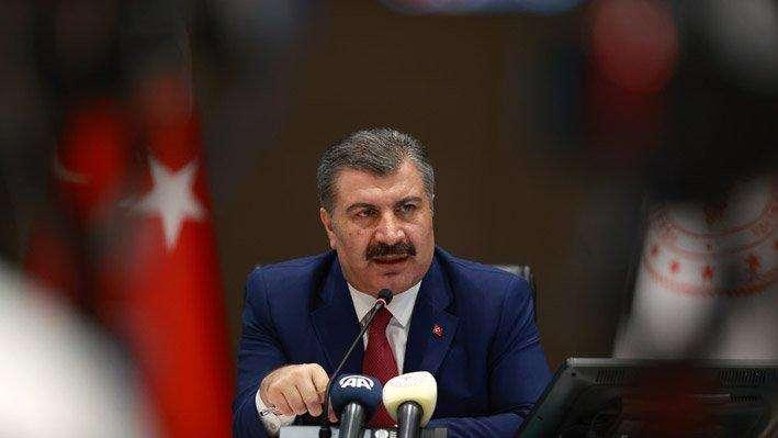 土耳其每千人中有2.8人新冠病毒检测结果呈阳性