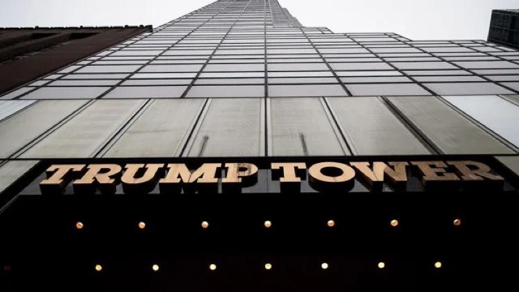 """纽约市长要在特朗普大厦外喷这标语:""""黑人命也是命"""""""