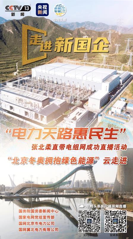 张北柔直组网成功 绿色电力点亮冬奥场馆图片
