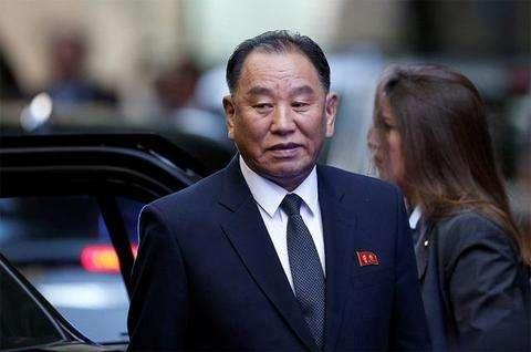 △朝鲜劳动党中央委员会副委员长金英哲