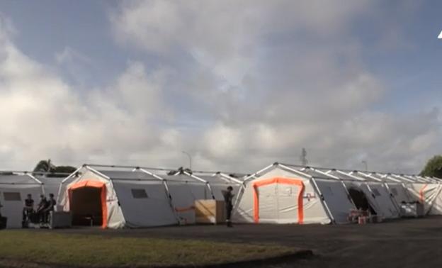 法属圭亚那建立野战医院 用于接诊非新冠感染患者