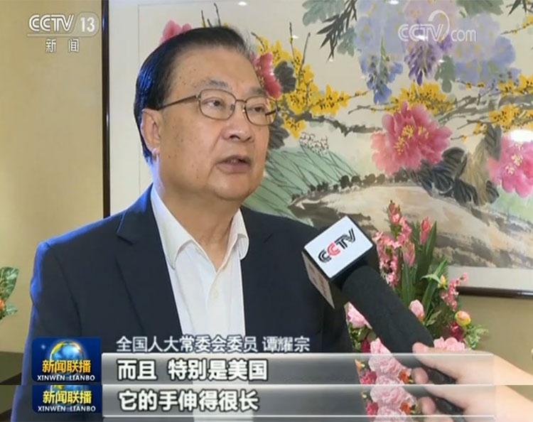 香港各界:反对外部势力干预香港事务图片