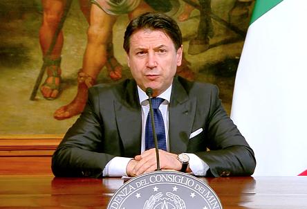△意大利总理孔特(图片来源:意大利政府)