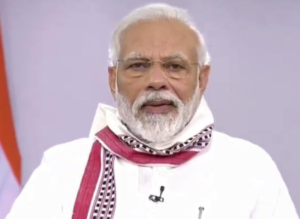 印度总理莫迪(视频截图)