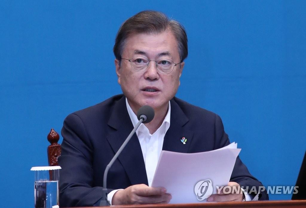 日本对韩采取报复性出口措施已满1年 文在寅发声