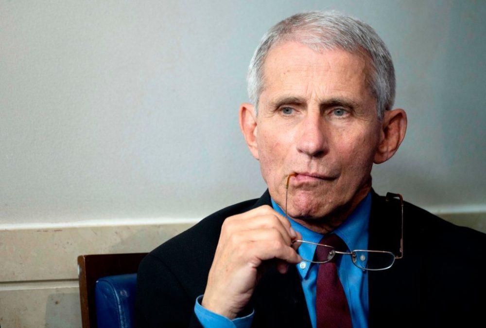 美国流行病学专家安东尼·福奇(图源:Getty)