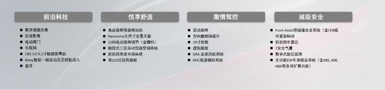 探岳X配置信息披露 推荐入门版车型