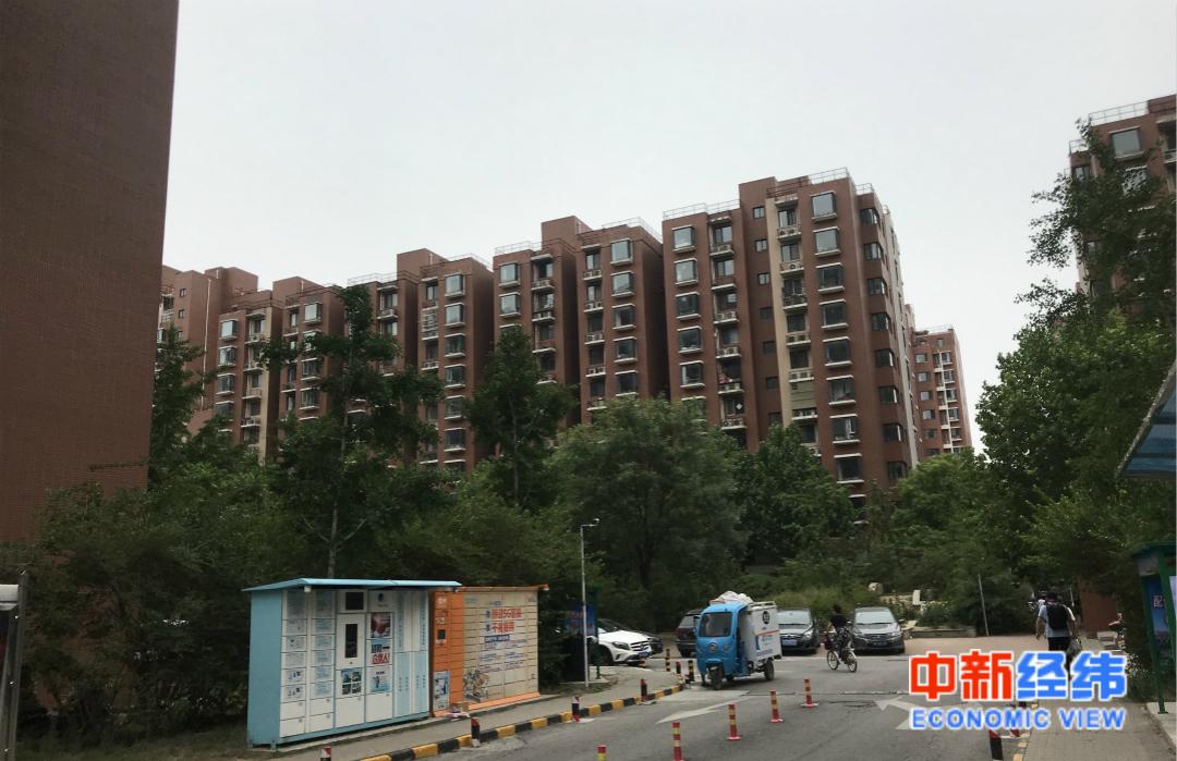 北京市大兴区一处住宅小区。中新经纬 薛宇飞 摄
