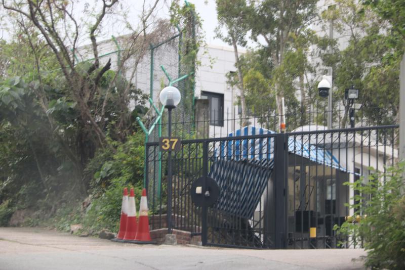 图为美国驻港领事馆宿舍(图源:大公报)