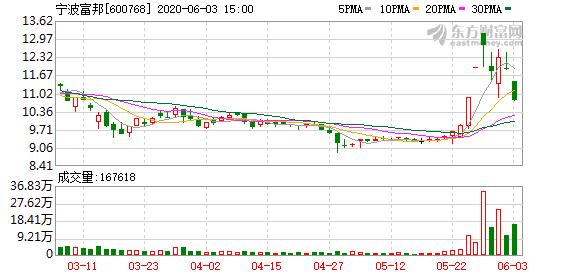 宁波富邦(600768)龙虎榜数据(06