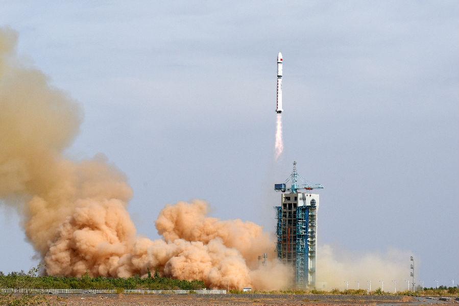 [摩天娱乐]长二丁火箭成功实施一箭双摩天娱乐星图片