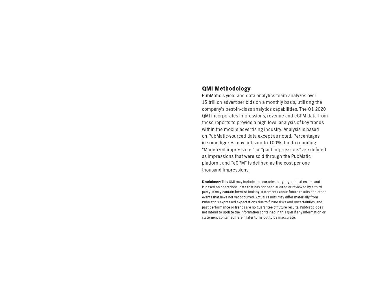 PubMatic:2020年第一季度移动广告指数报告
